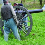 Cannon Fire at Reenactment