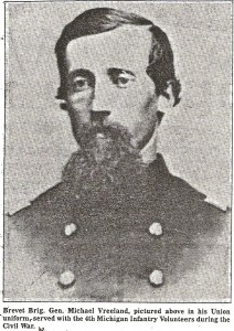 Michael Vreeland in Union uniform